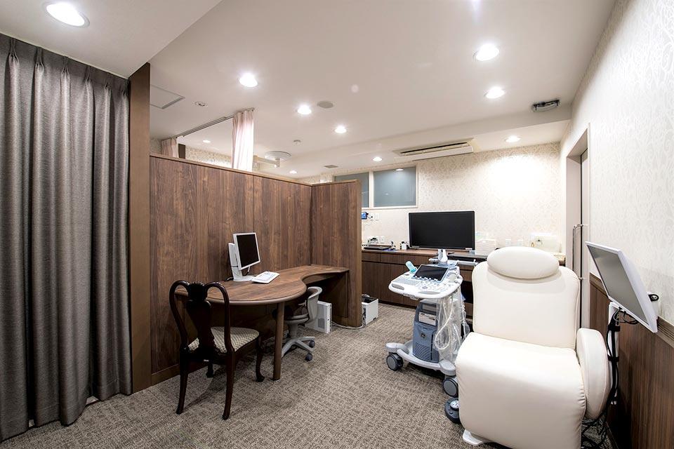 婦人科診察室